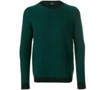 Pullover mit geometrischem Muster
