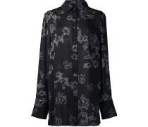 Seidenhemd mit Blumen-Print - women - Seide - 12
