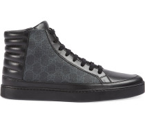 GG Supreme high-top sneakers