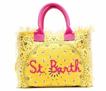 vanity bandana-print beach bag