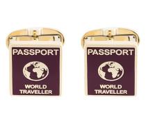 'Passport' Manschettenknöpfe