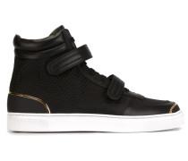 Gewebte High-Top-Sneakers