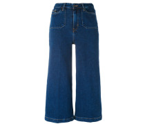 Weite Cropped-Jeans - women