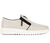 Loafer mit Reißverschluss