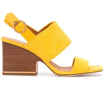 Sandalen mit Holzabsatz