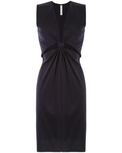Jersey-Kleid mit Knoten