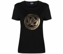 T-Shirt mit Schlangen-Logo
