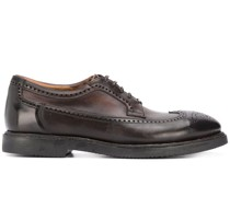 burnished oxford shoes