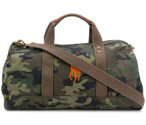 camouflage holdall