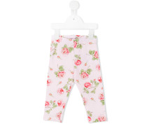 Leggings mit Rosen-Print