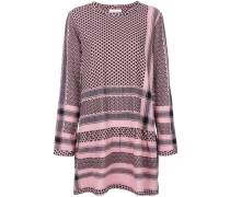 Kleid mit Schal-Print