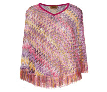 Poncho mit Muster