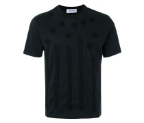 T-Shirt mit Stern-Stickerei