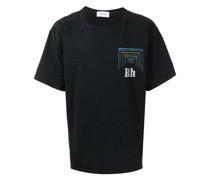 "T-Shirt mit ""Hardcore Happiness""-Print"