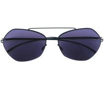 Sonnenbrille mit eckigen Gläsern - unisex