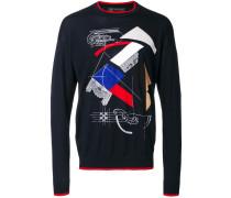 'Capitello' Pullover mit Print
