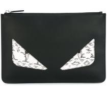 "Clutch im ""Bag Bugs""-Design"
