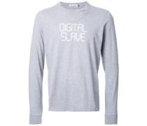 "Langarmshirt mit ""Digital Slave""-Print"