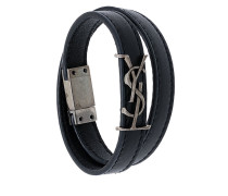 YSL double wrap bracelet