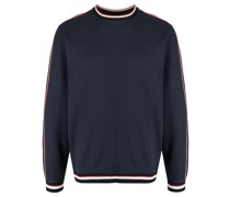 Sweatshirt mit Streifendetail