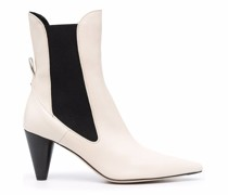Clementine leather ankle boots