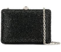 crystal embellished box clutch