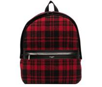 tartan City backpack