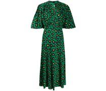 'Joan' Kleid mit Leoparden-Print