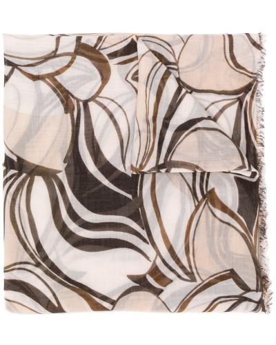 'Patty' Schal mit abstraktem Print