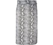 x HYKE python print skirt