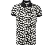 Poloshirt mit Stern-Print