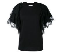 - T-Shirt mit gerüschten Ärmeln - women
