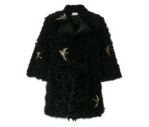 swallow bird patch coat