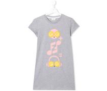 T-Shirt mit Musik-Print