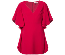 wide sleeve minidress