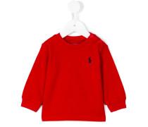 - Sweatshirt mit Logo-Stickerei - kids
