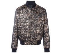'Eye' baroque bomber jacket