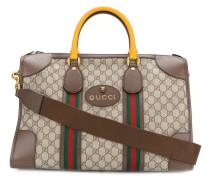 Reisetasche mit Webstreifen