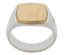 Zweifarbiger 'Amulet' Ring