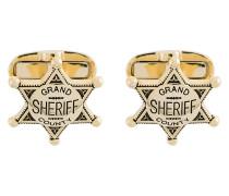 Manschettenknöpfe im Sheriff-Design