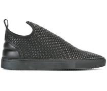 Gewebte Slip-On-Sneakers