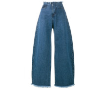 Jeans im Oversized-Look