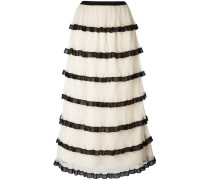frill layered skirt