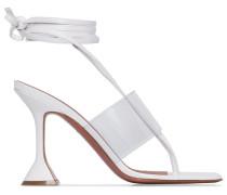 'Zula' Sandalen mit Wickelriemen, 95mm