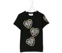 - T-Shirt mit verzierten Logos - kids