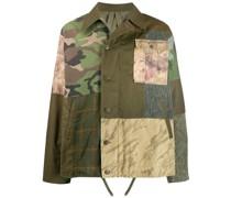 Hemdjacke im Patchwork-Design