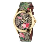 Armbanduhr mit GG-Logo
