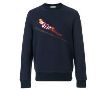 ski embroidered sweatshirt