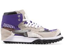 Sneakers mit Einsätzen
