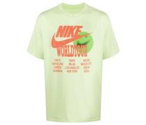 "T-Shirt mit ""Worldtour""-Print"